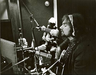 One of the few photographs from the  Astral Weeks  recording sessions.