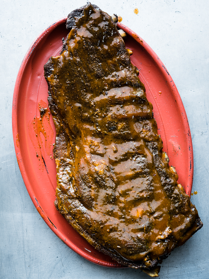 Myron Mixon BBQ ribs