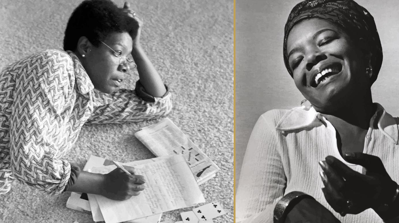 The extraordinary Maya Angelou