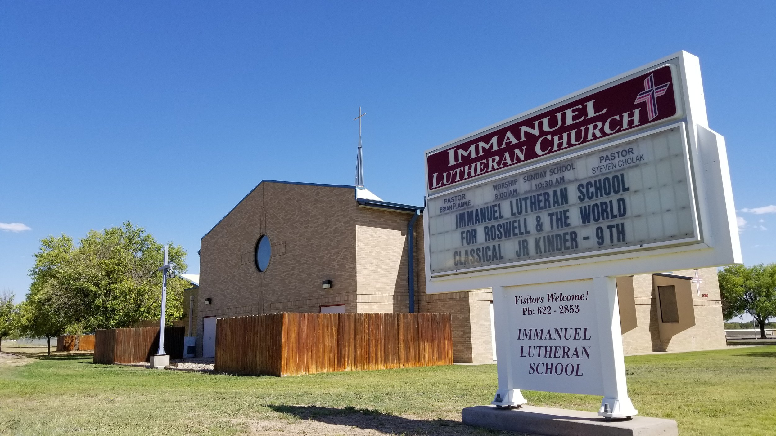 Welcome! We are A Biblical and liturgical lutheran church in roswell, new mexico -