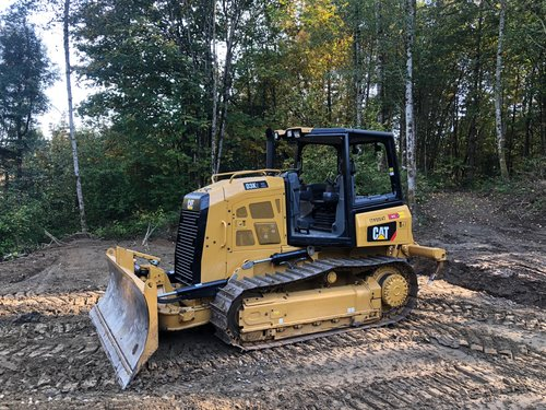 "Our CAT D3 K2XL bulldozer rentals we offer feature a six-way 102"" S blade for added versatility. Each also offers a three-barrel ripper for tough jobs."