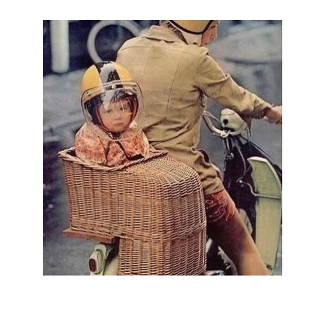 Just a little baby in a basket for ya