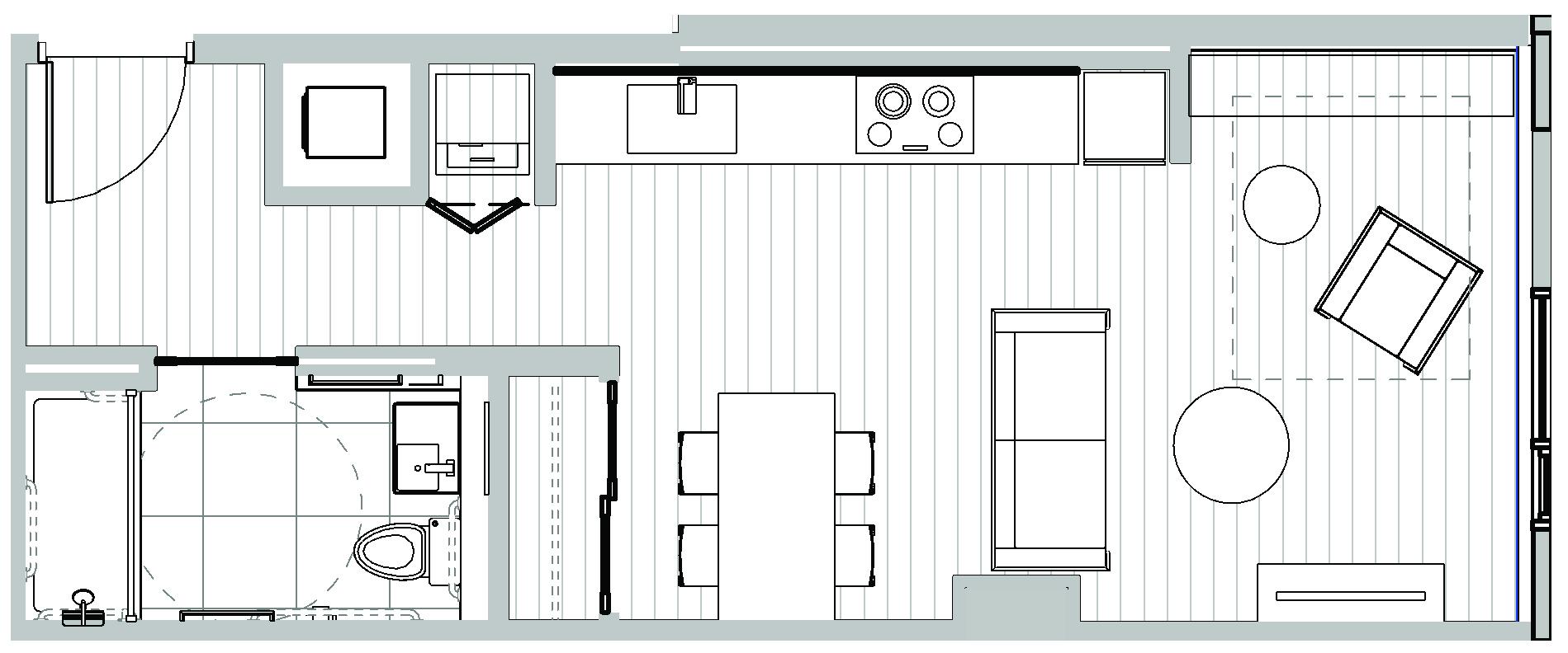 studio condos in Seattle - Koda Condominiums