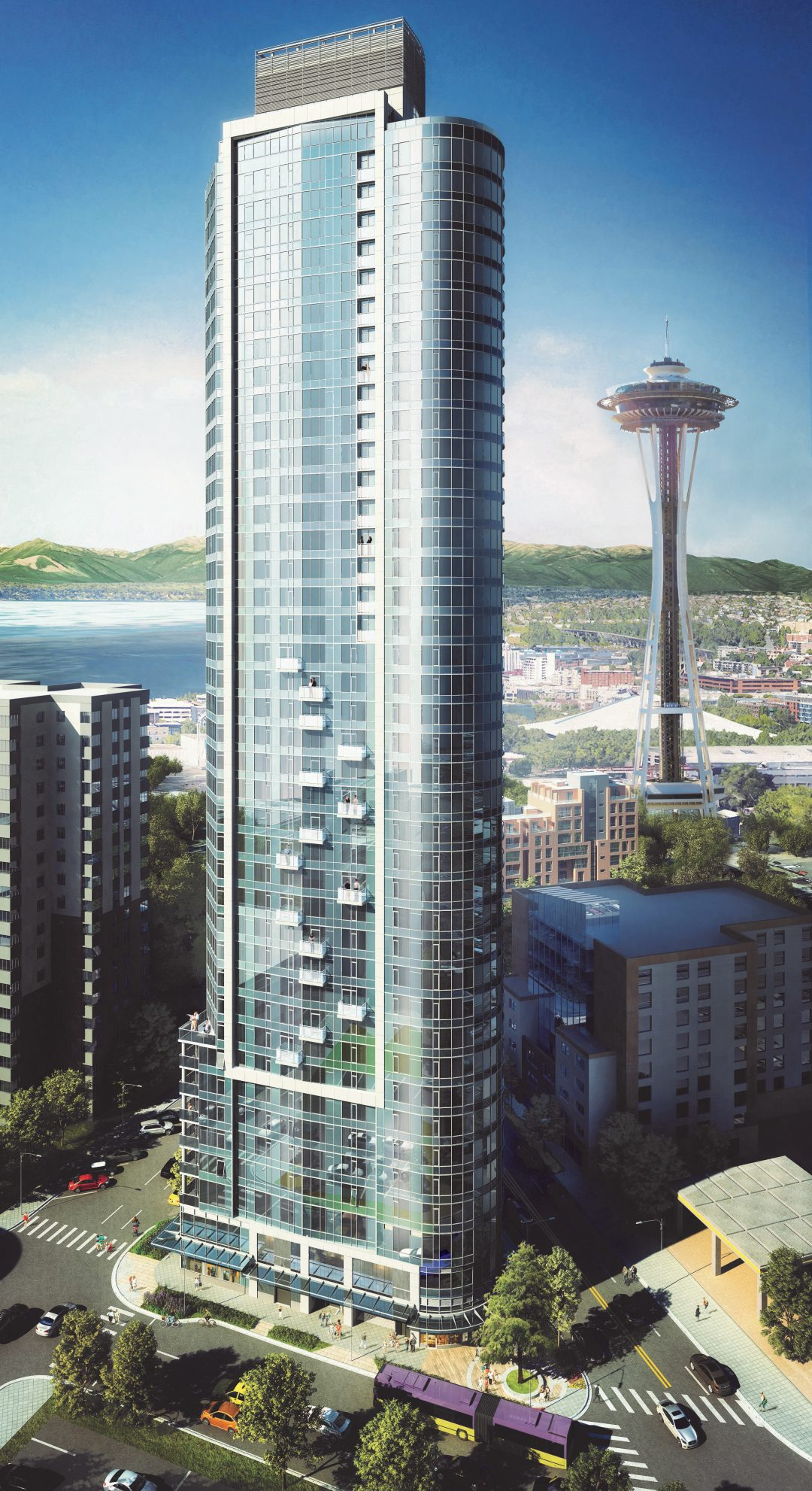 PICTURED ABOVE: The  SPIRE Condominium development was recently announced as a condominium for sale, which is now under construction for occupancy in late 2020.
