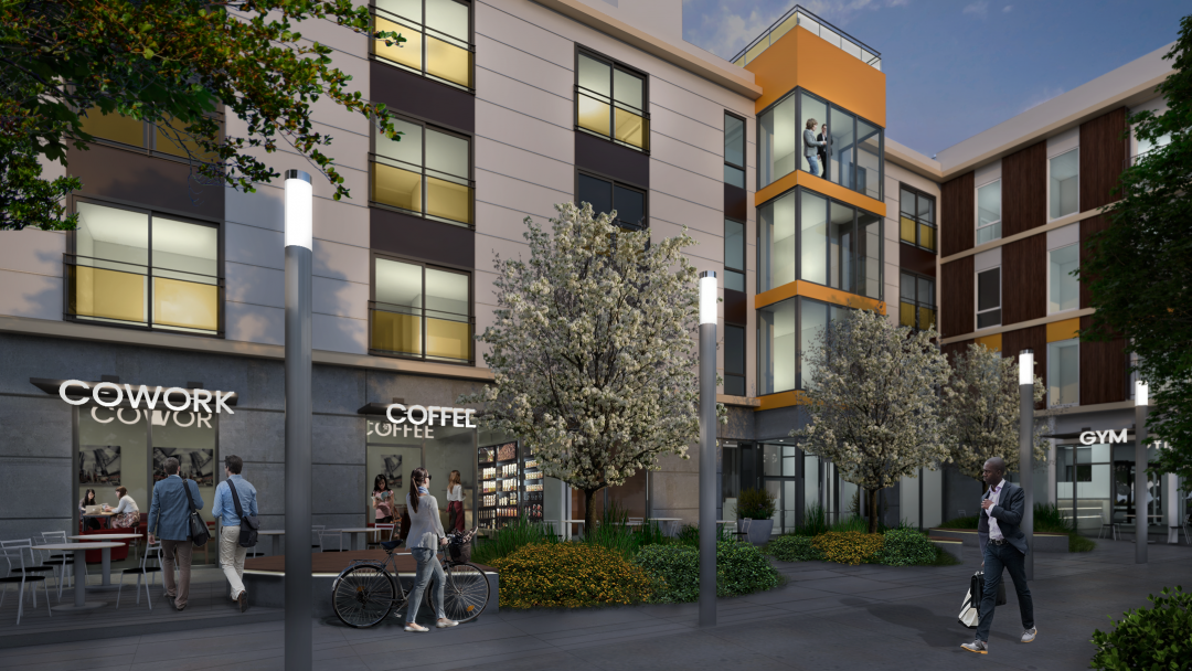 PICTURED ABOVE:  The Sonata Condominium development planned for Columbia City is poised to tap pent up demand for new condominiums within conforming loan limits allowing for 3.5-5% down payment options and mortgage payments that look like rent.
