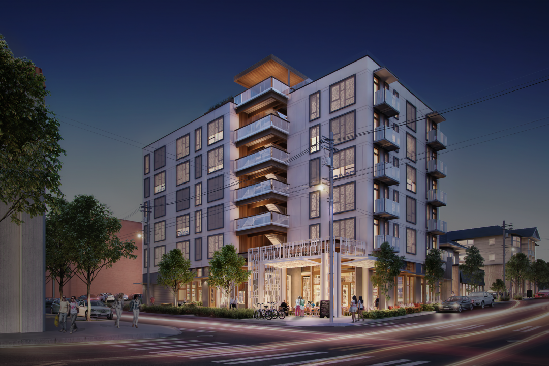 PICTURED ABOVE: Capitol Hill and First Hill are expected to see a rise in wood frame condominium development, with projects such as SOLIS.