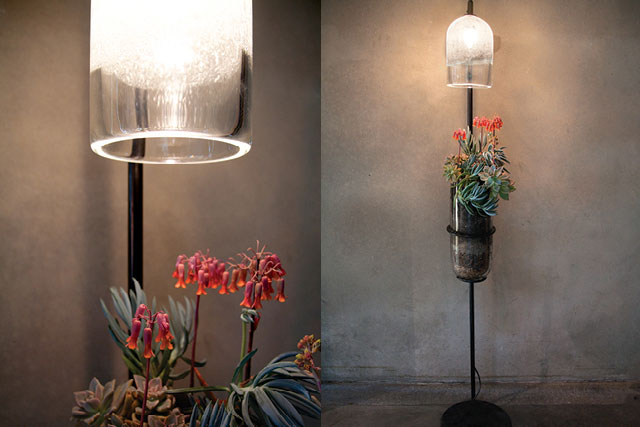 siemon & salazar - Design studio making hand blown glass vessels and lighting fixtures in Southern California.