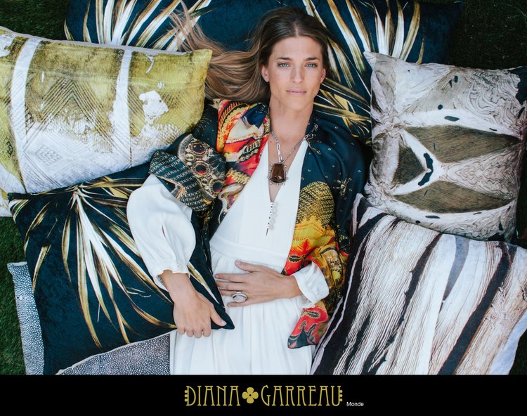 Diana Garreau Design - South African home, textile and jewelry design based in Southern California.