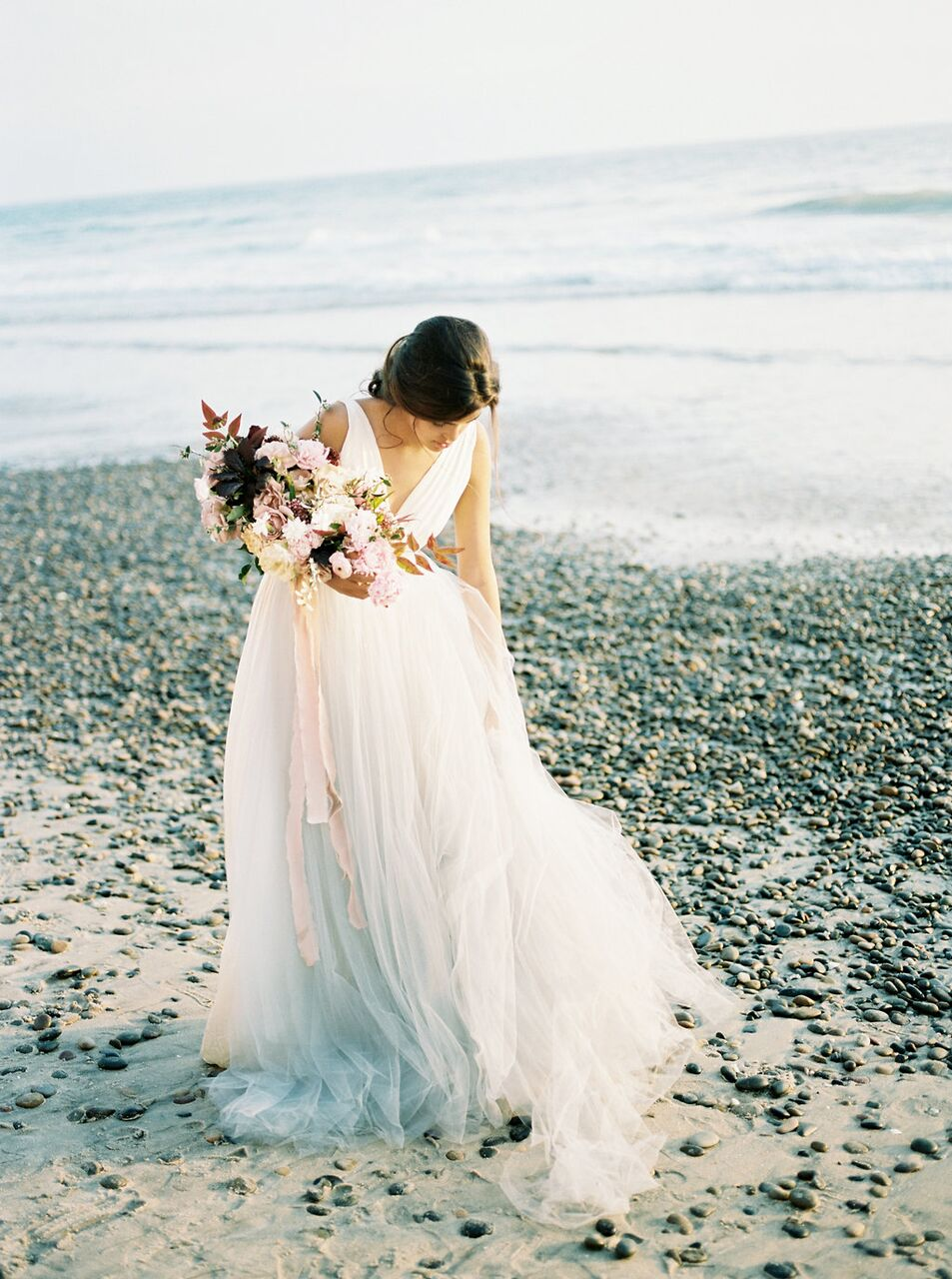 beach bridal bouquet