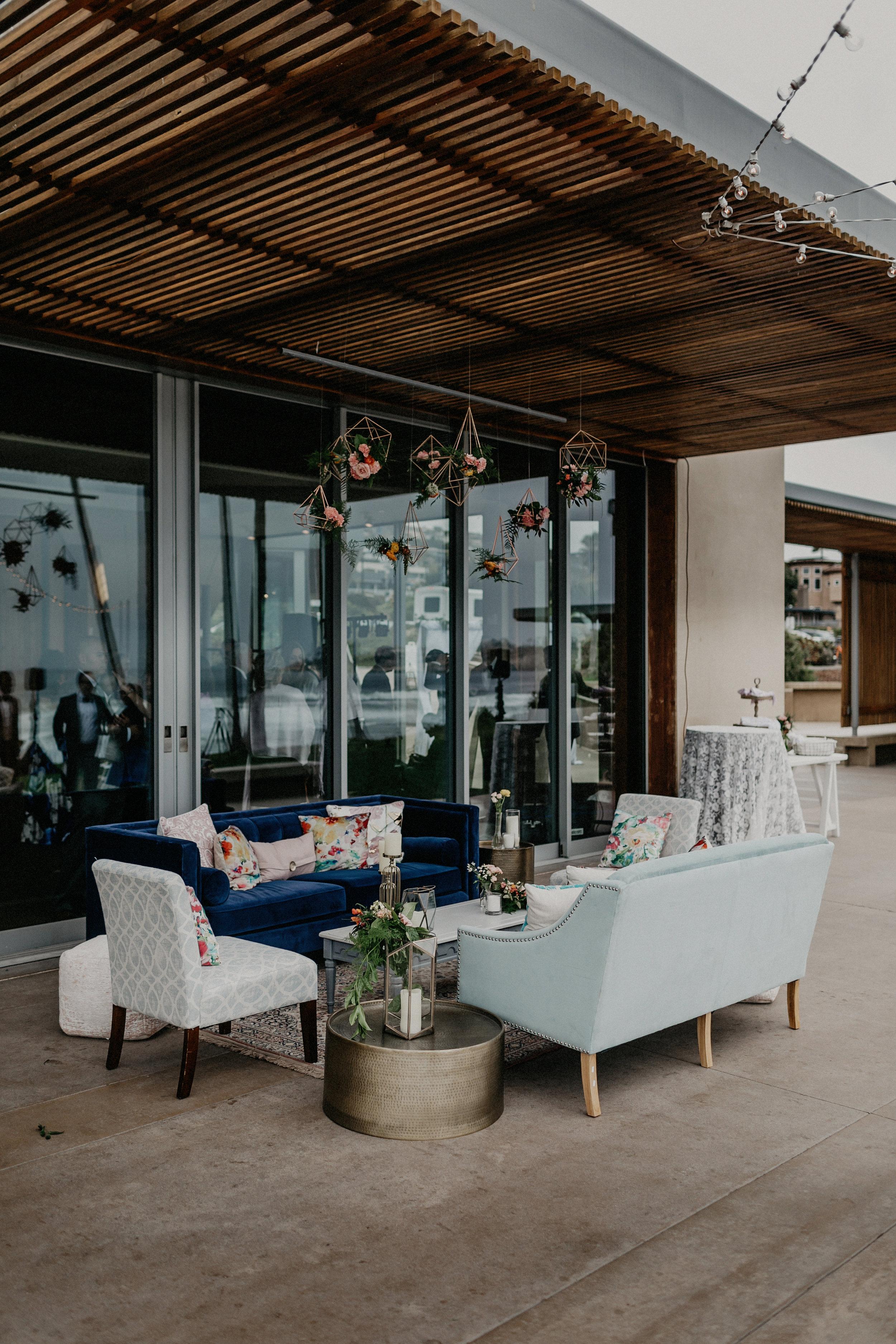 Wedding Lounge Set Up
