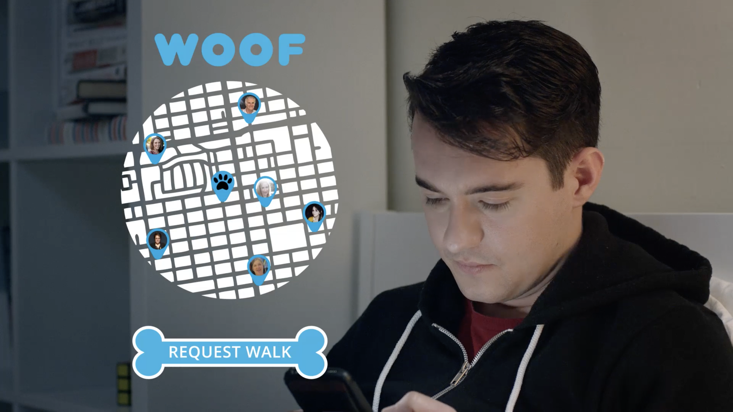 """""""WOOF"""" map/request interface"""