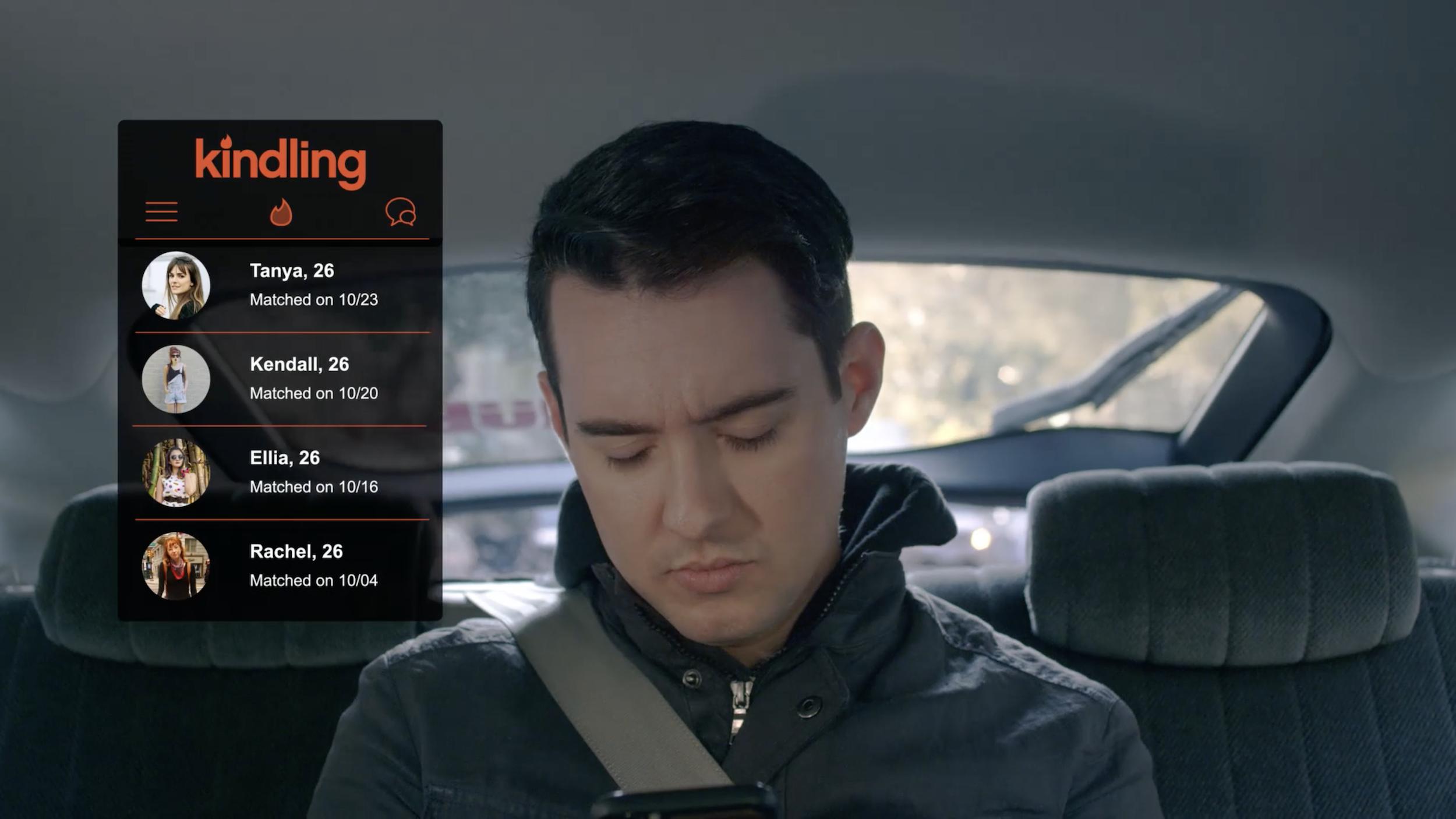 """Kindling"" matches UI"
