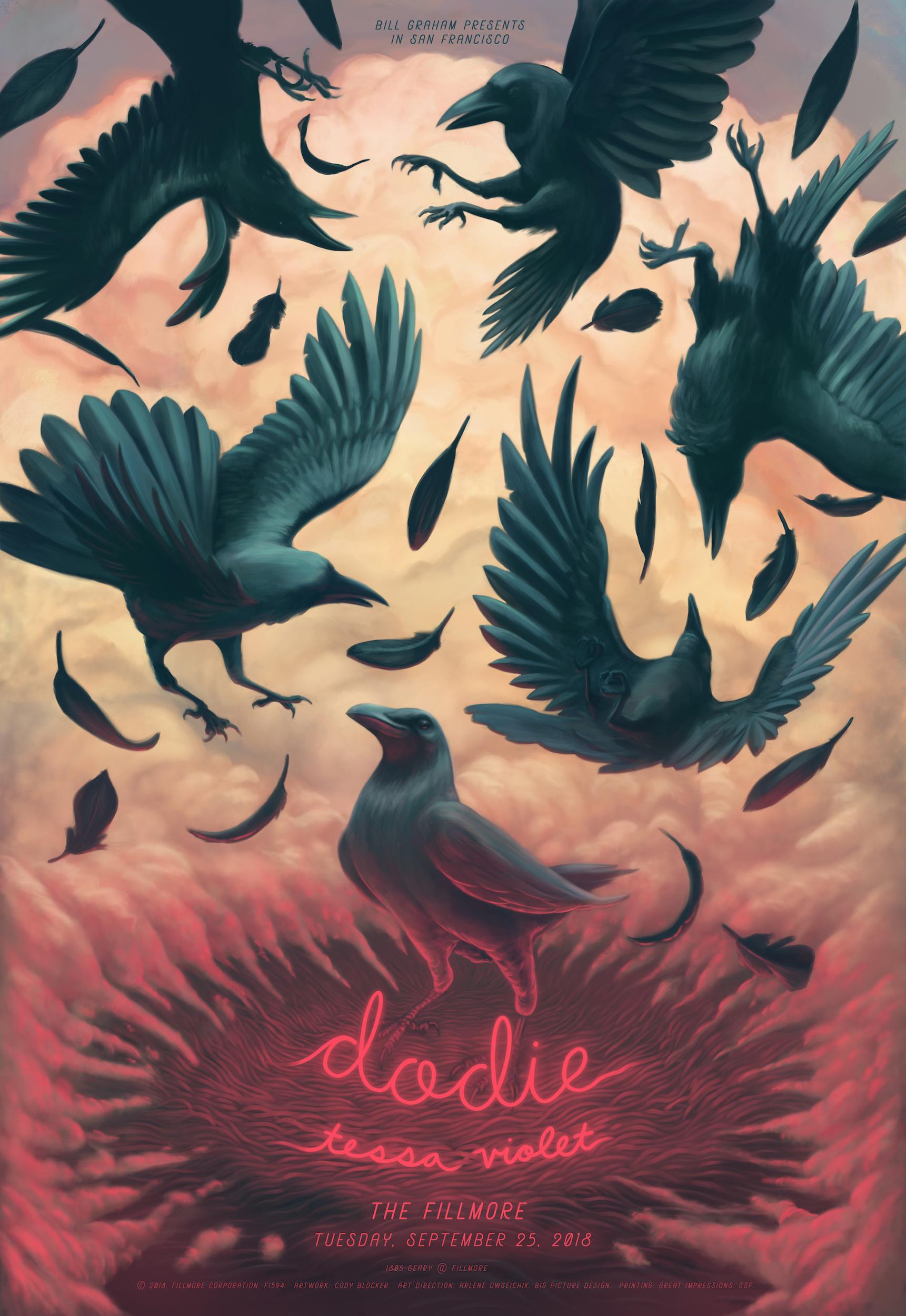 dodie Concert Poster