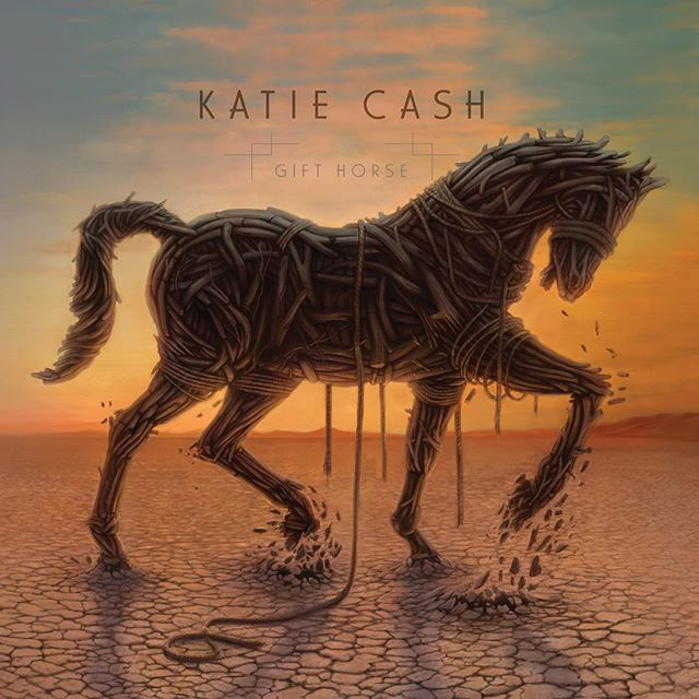 Just found out that Gift Horse was nominated for the 17th Annual Infependent Music Awards in two categories: Alt Country And Album Art  Congratulations to @katie_cash_music (and thanks for putting my name in the hat). Wish us luck! 🙌 🐴 🎁 🌅 #katiecash #gifthorse #albumart #altcountry #albumcover #desertsky #trojanhorse