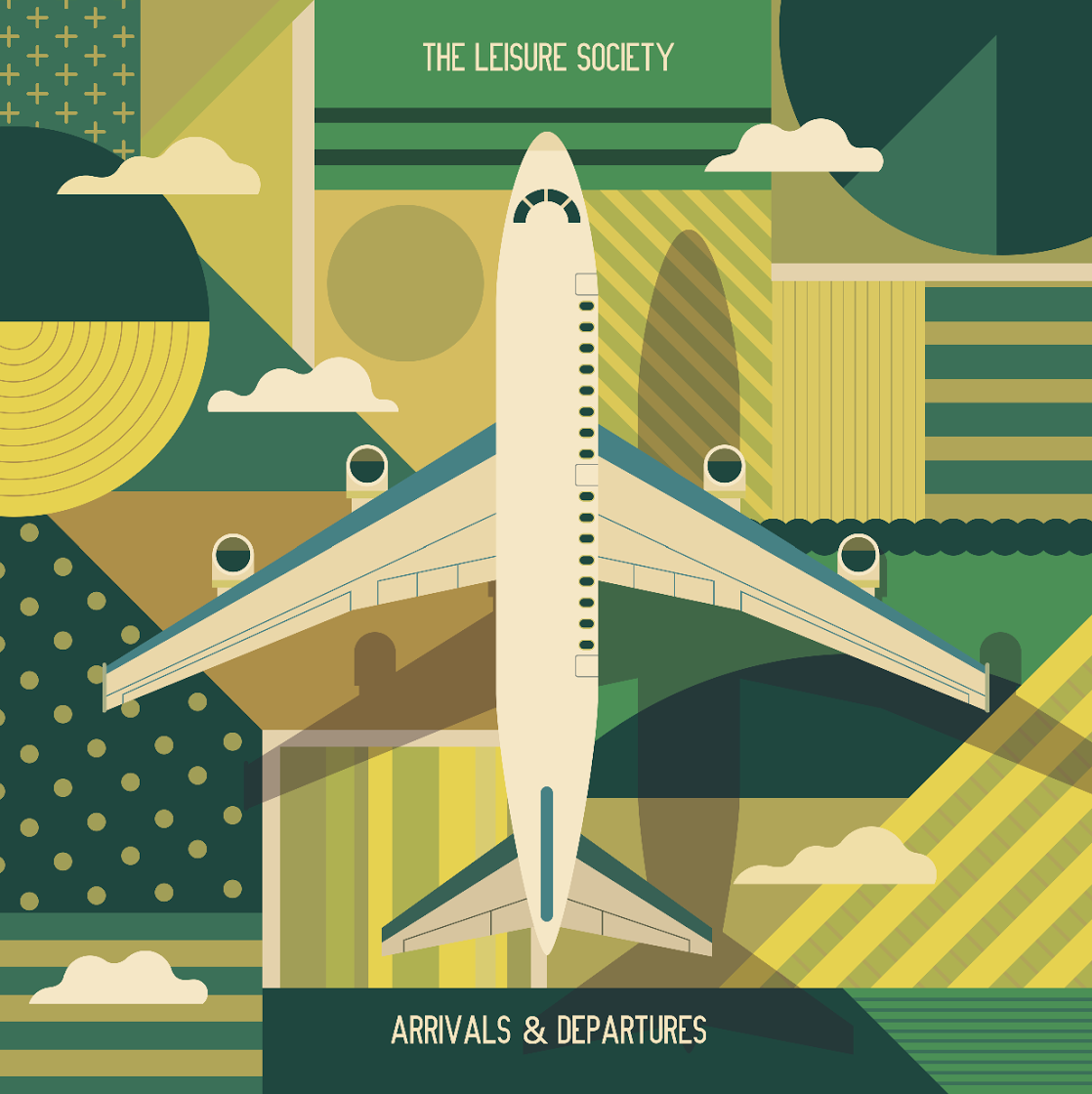 The Leisure Society  Arrivals and Departures  MIXING (9 tracks)  (Ego Drain Records 2019)