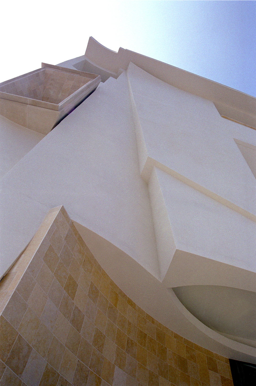 Northeast corner detail