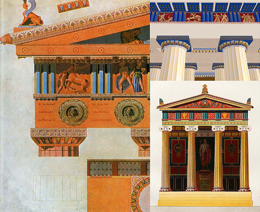 The system of ornamentation of ancient Greek and Roman architecture survived in many forms in many places across millennia finally dying out for good in 1945
