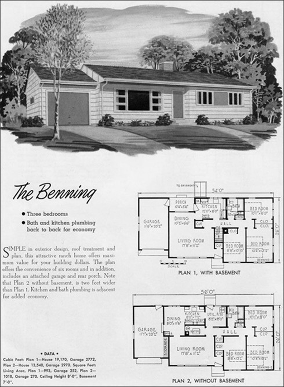 THE PLAN AS A MAP Real estate advertisements show pictures of houses and their floor plans. Most people look at this kind of a plan as a map of the house, imagining themselves living in it.