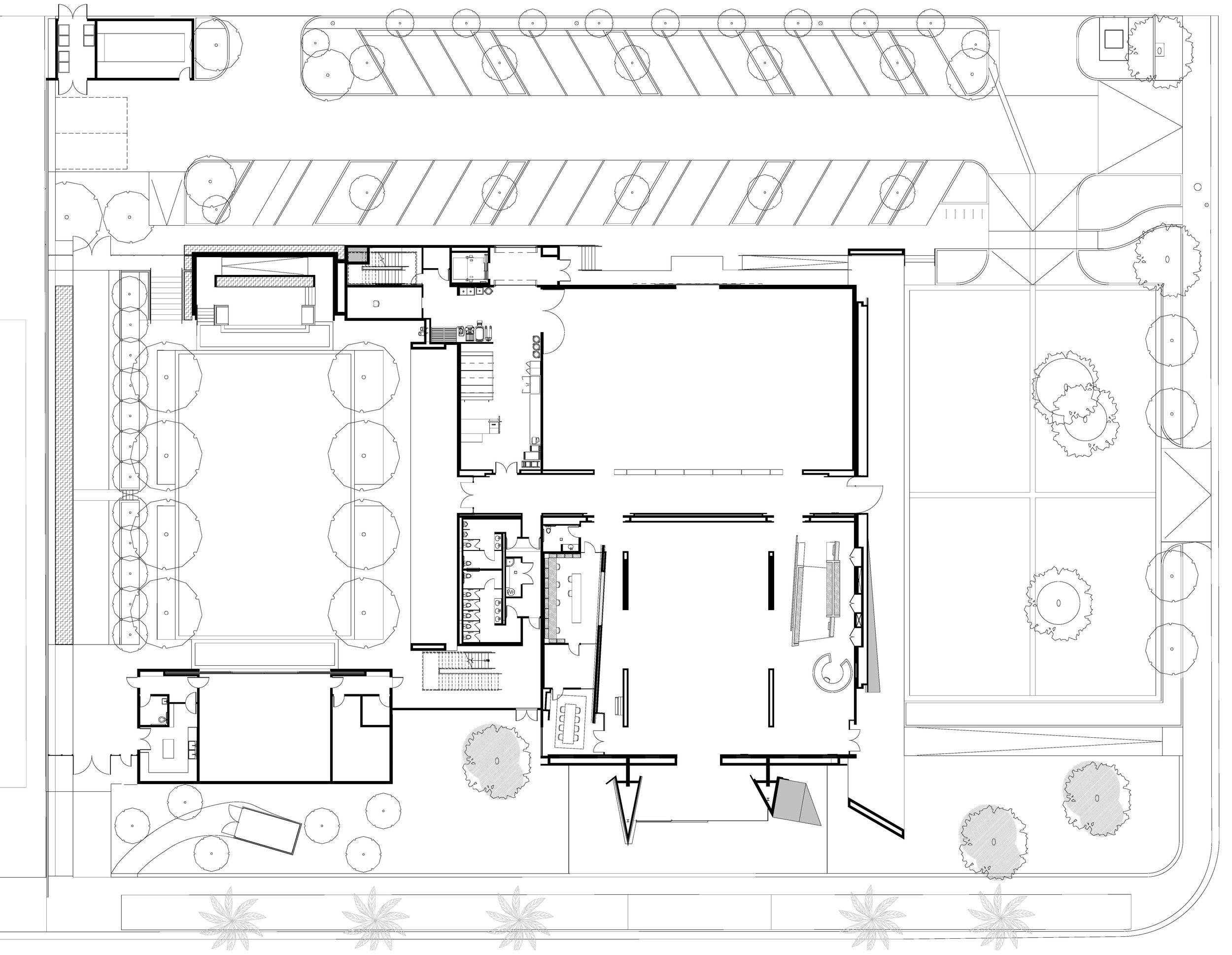 MUSEUM OF REDLANDS Site plan