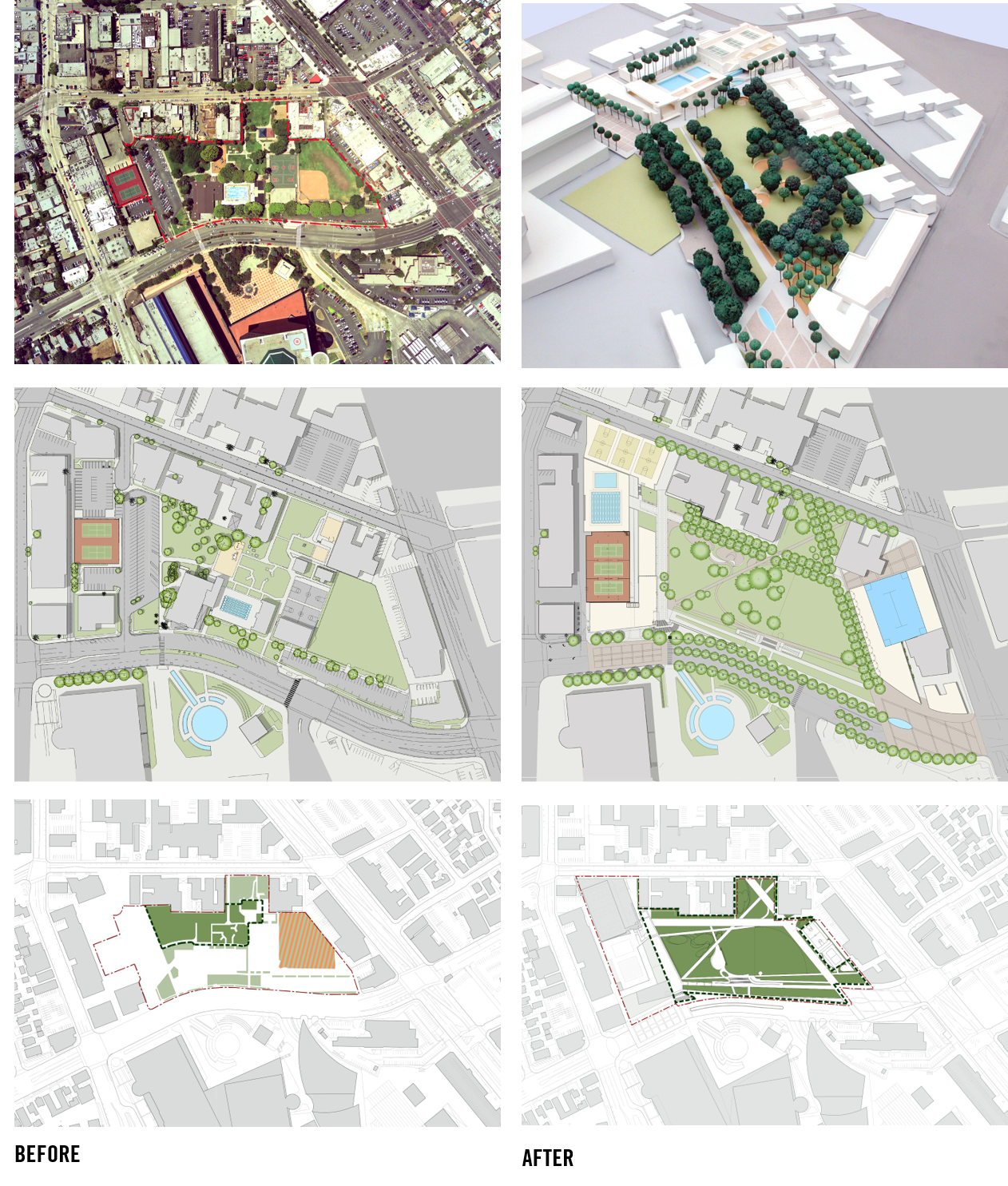 GIVE ME SPACE Redevelopment of West Hollywood Park now in construction (the first phase, the library, already complete) will create five acres of unprogrammed park open space where previously there was one.
