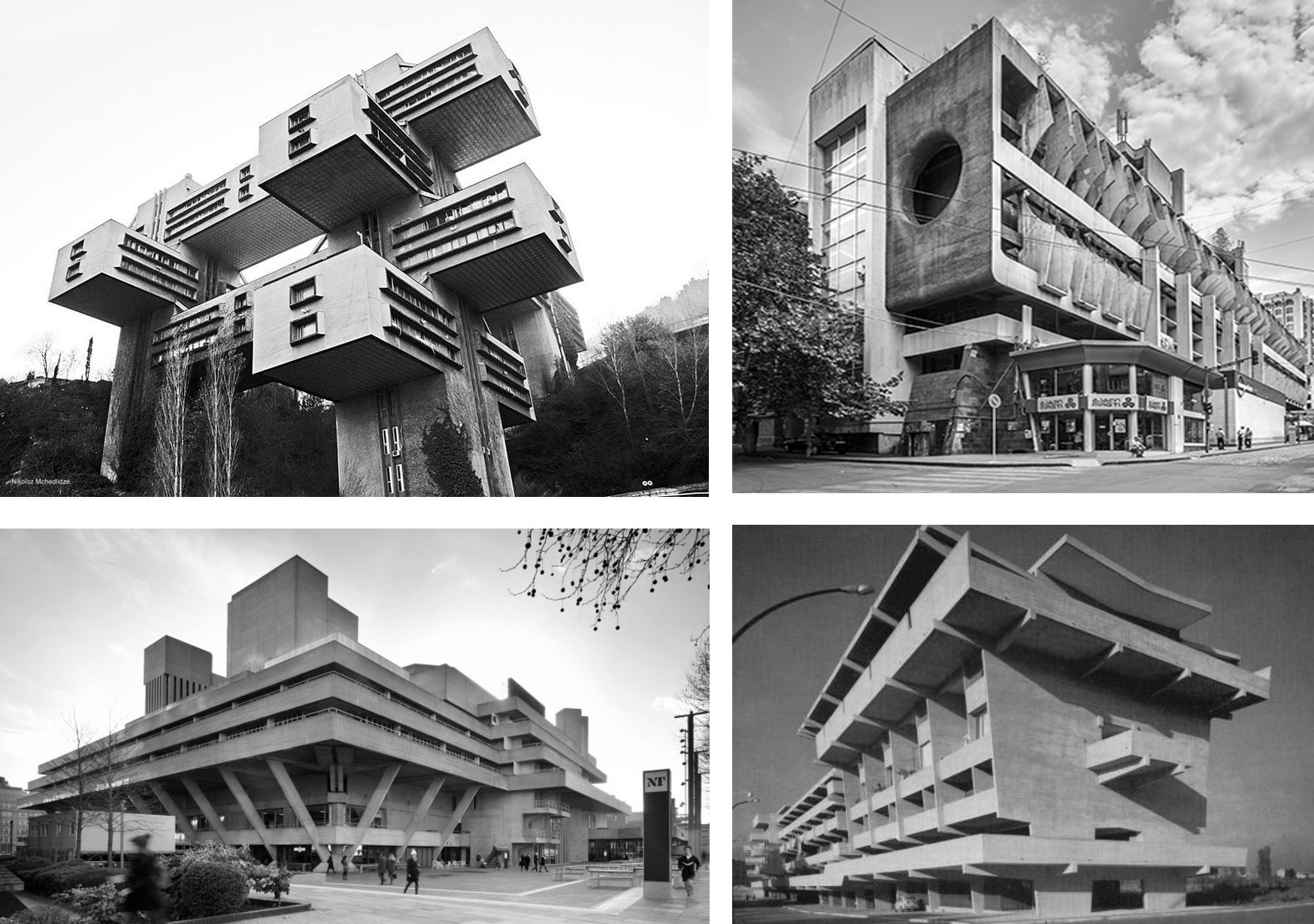 EUROPEAN BRUTALISM Europeans, especially eastern Europeans and the Soviets had a blast, so much did they want freedom, so anxious were they to off load architectural traditions which had come to be associated with so much that went wrong.