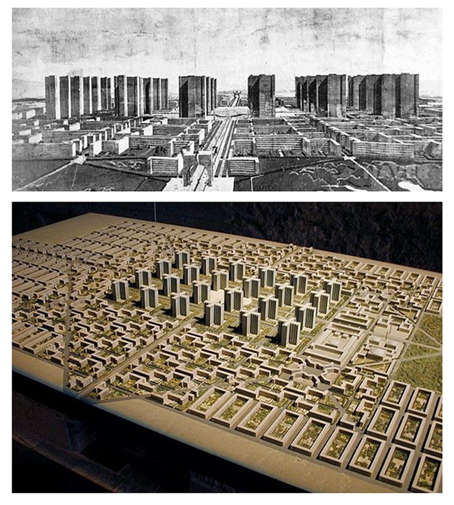 RADIANT CITY Charles Jeanneret found metaphysical truth in proposing a model of the city based on modern technology: tall buildings and automobiles. How has this worked out?