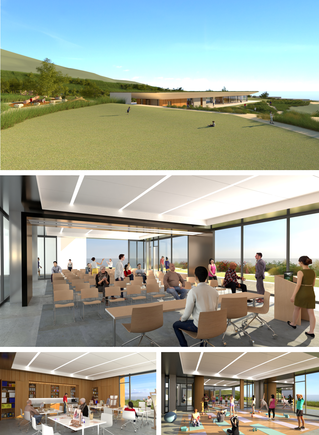 WHY COMMUNITY This community center in Rancho Palos Verdes will never yield a profit, it will probably never pay for itself and yet dividends yielded to the community will benefit generations to come.