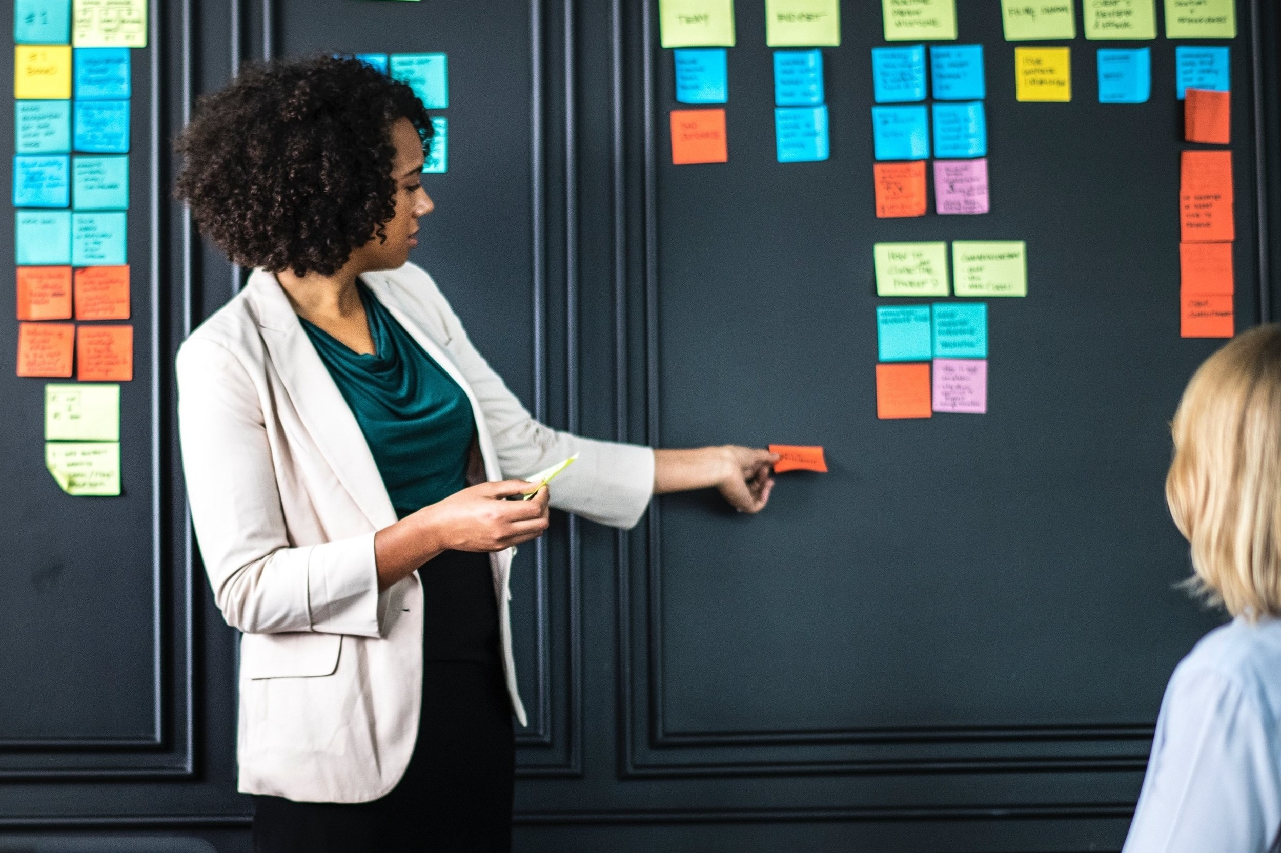 host a community workshop - Does your nonprofit empower women in the community? We want to work with you! Our custom design thinking workshop helps members of your organization come together to produce valuable work.