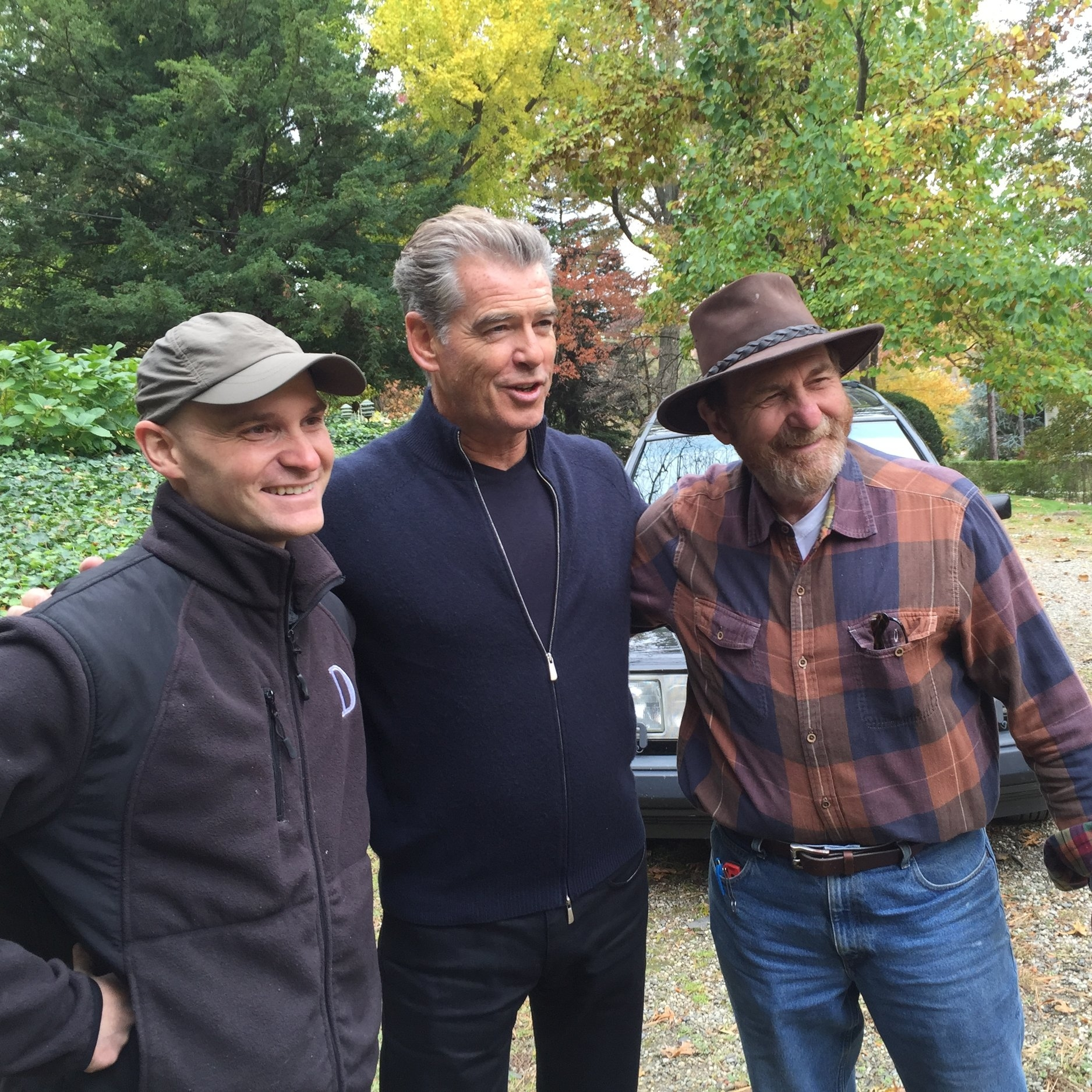 Actor Pierce Brosnan, friend of a client, randomly showed up at the work site of this historic Englewood estate, which had been designed by the late Frederick Law Olmsted, arguably the father of American landscape architecture.