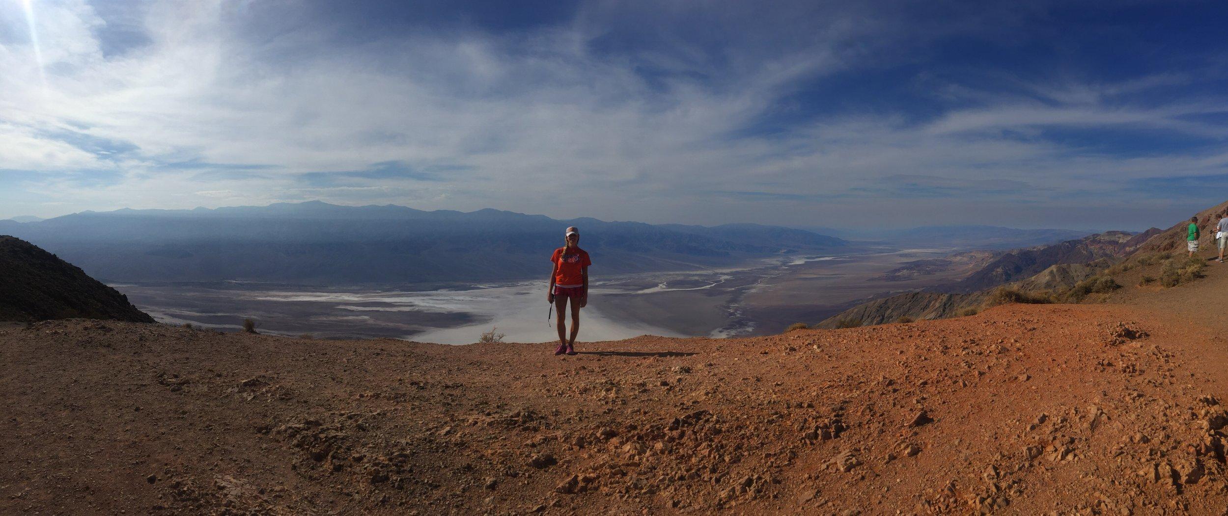 Desert:Death Valley National Park (CA). October, 2017.
