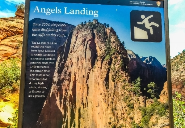 Angel's Landing Trailhead, Zion National Park