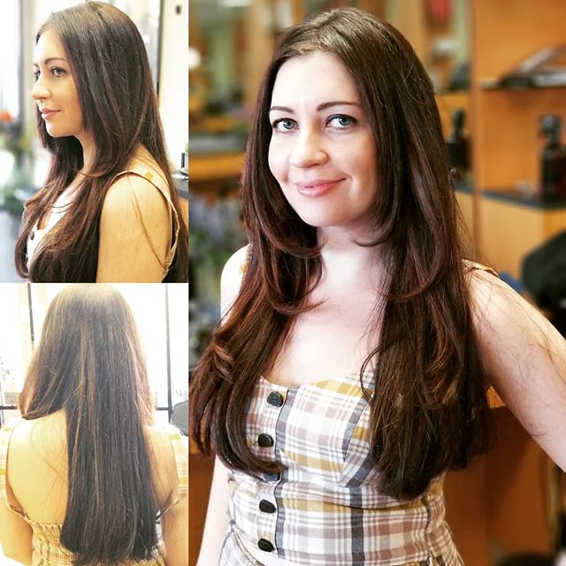 Cut & Blow Dry by Atika🤩!