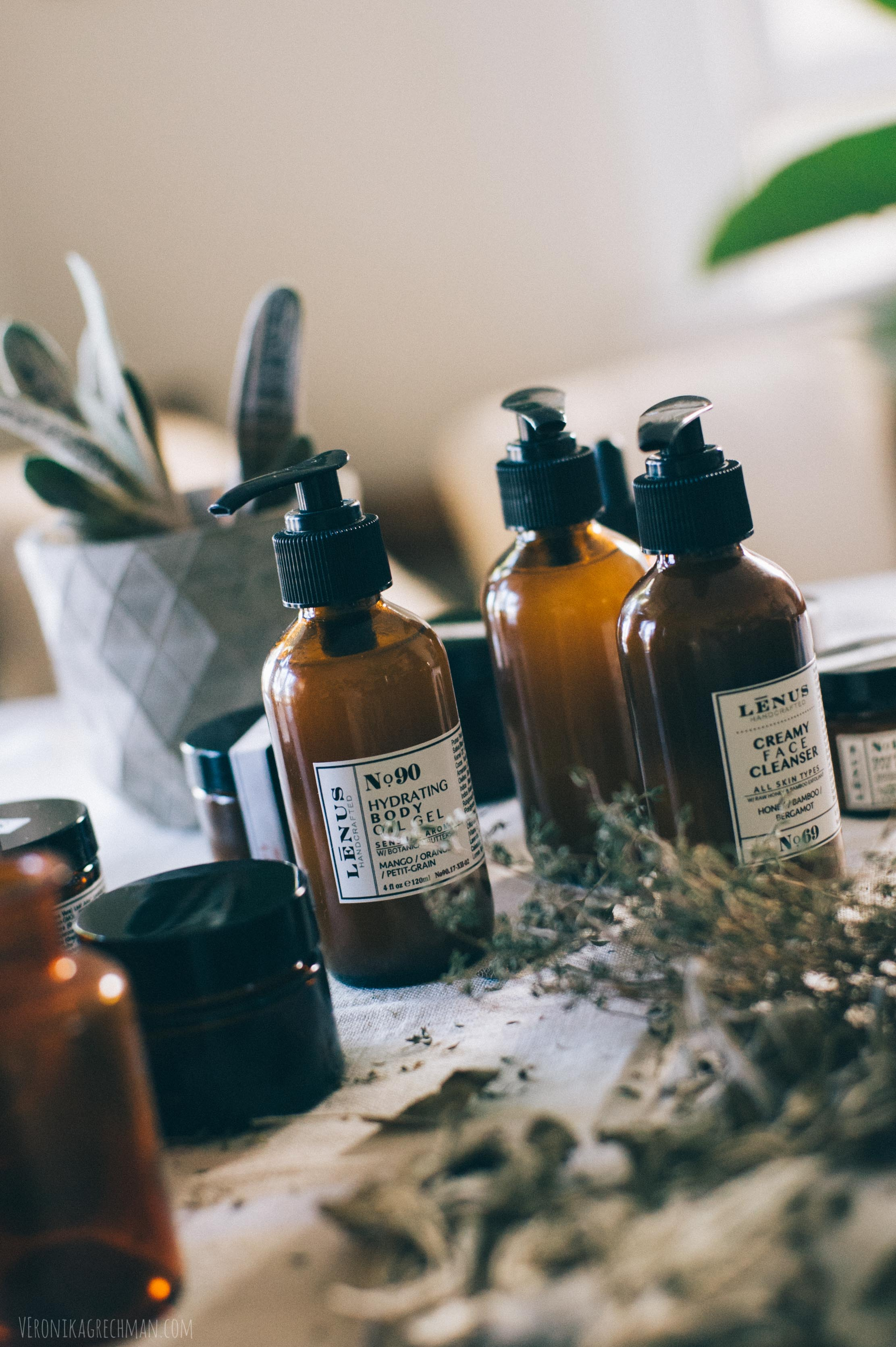 Lenus Handcrafted skincare natural beauty products San Diego California