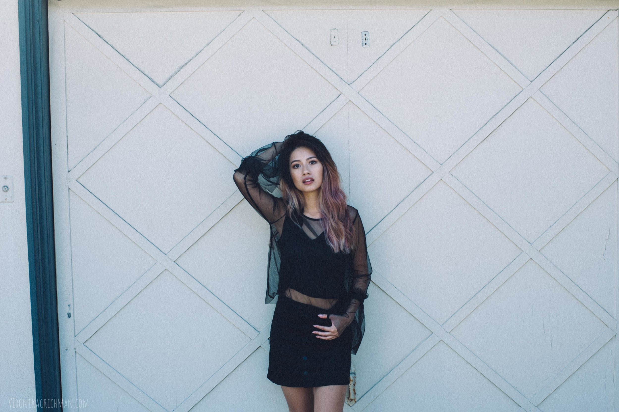 Girl portrait photoshoot inspiration in California