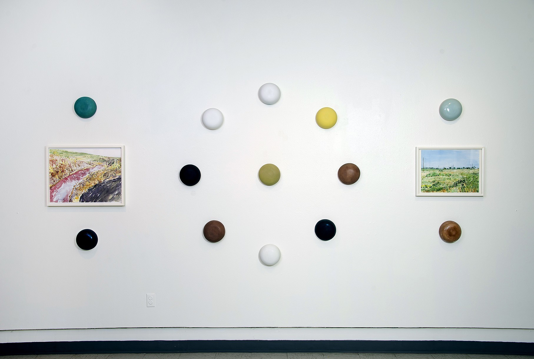 """Installation view, """"Failure is an Option"""" by  Jeff Krueger"""