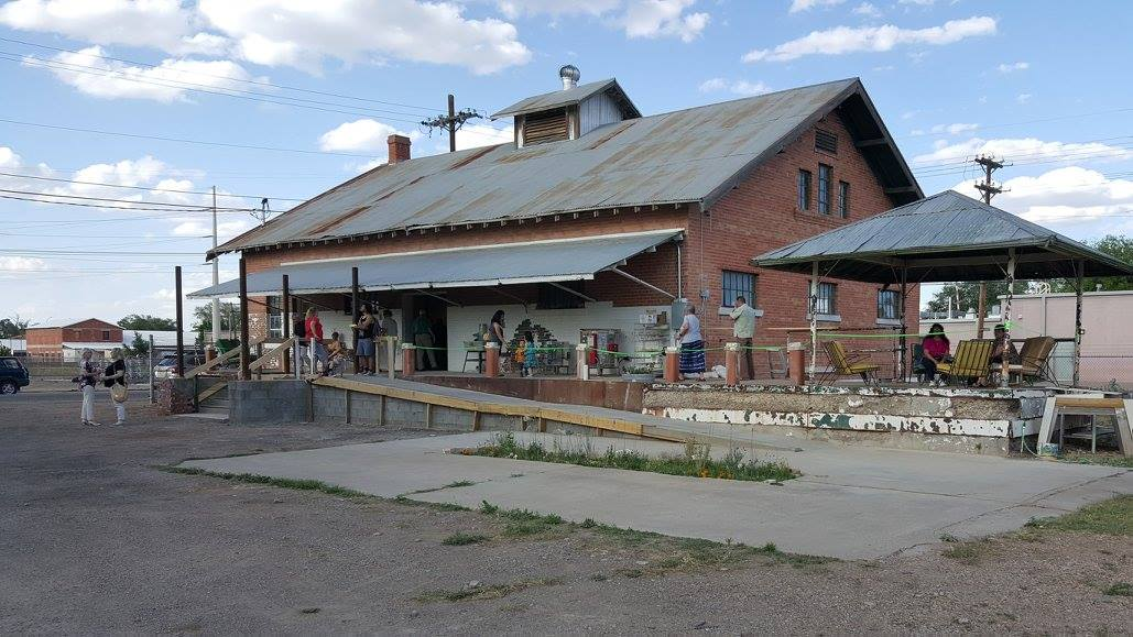Bone Springs Art Space in the Railroad District