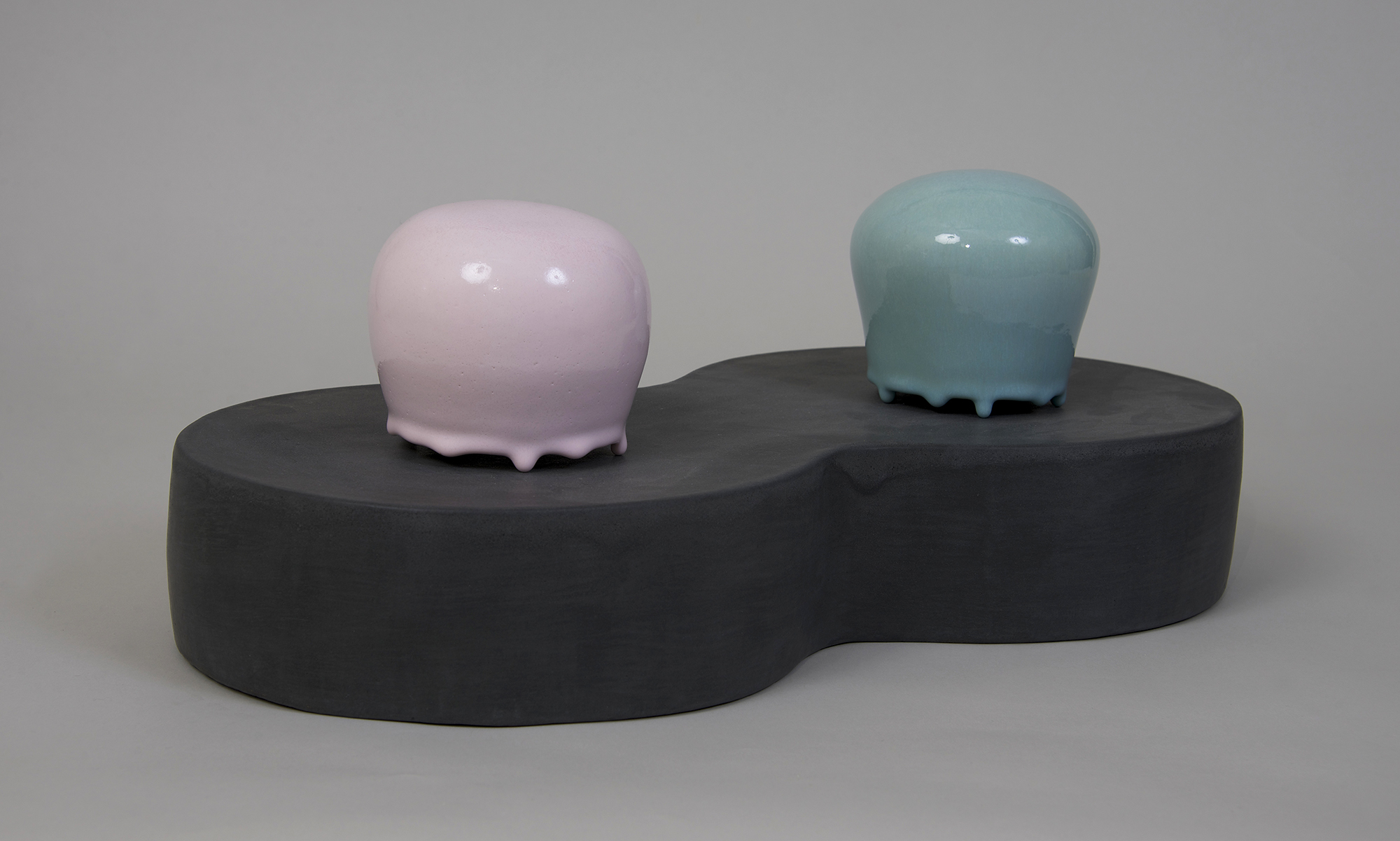 AMoCA Collection     Ghosts , ceramic, 2017