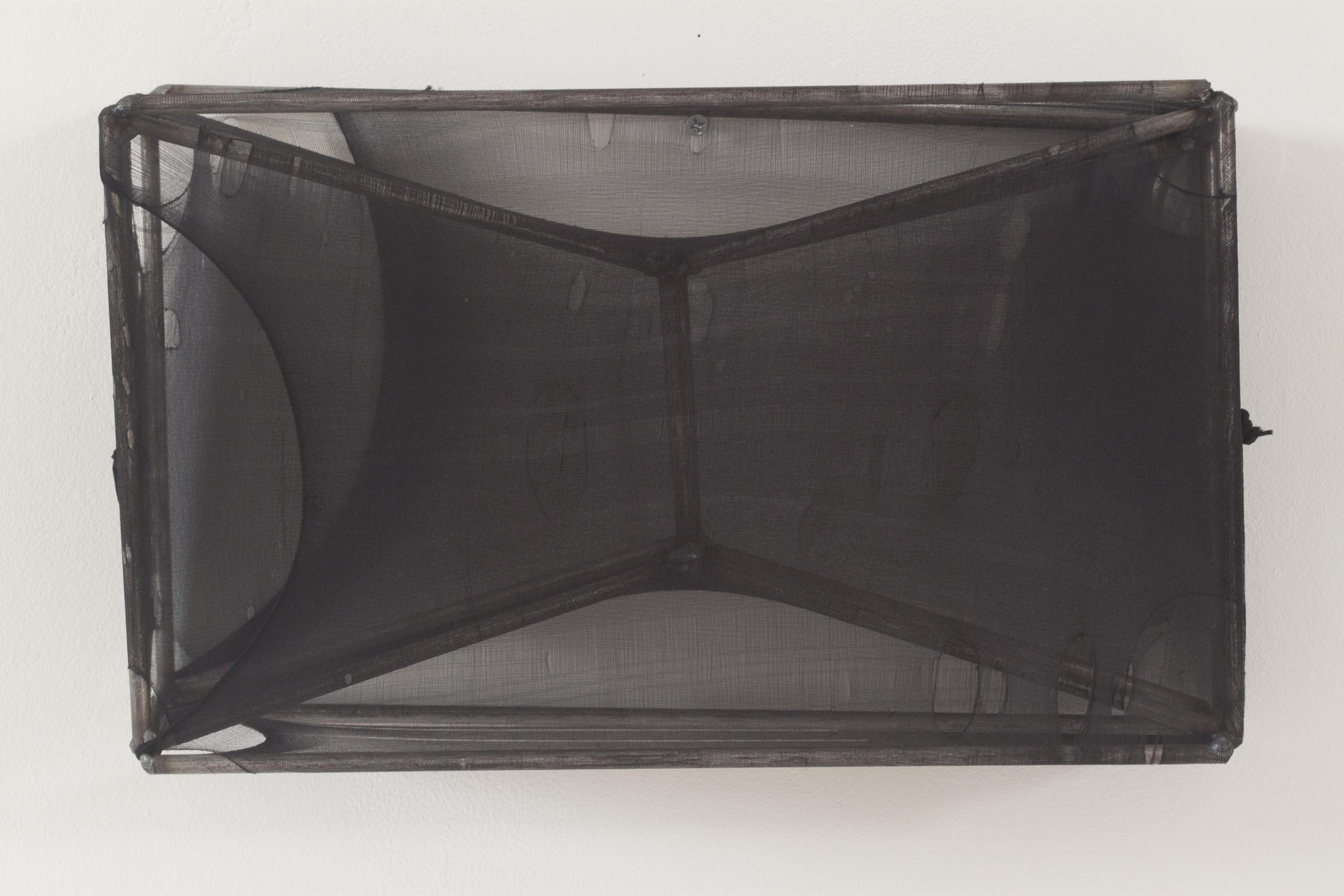 "AMoCA Collection  |  Untitled, Steel, nylon, 8.5""x14""x6"", 2015"