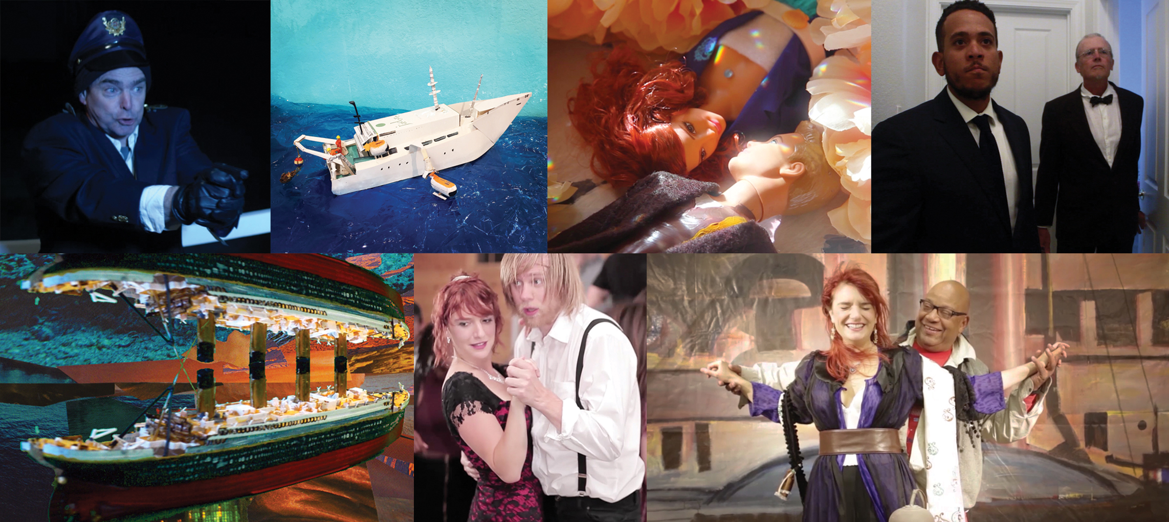 AMoCA Collection |  Titanic: a deep emotion , video stills from full length movie in progress, date TBD