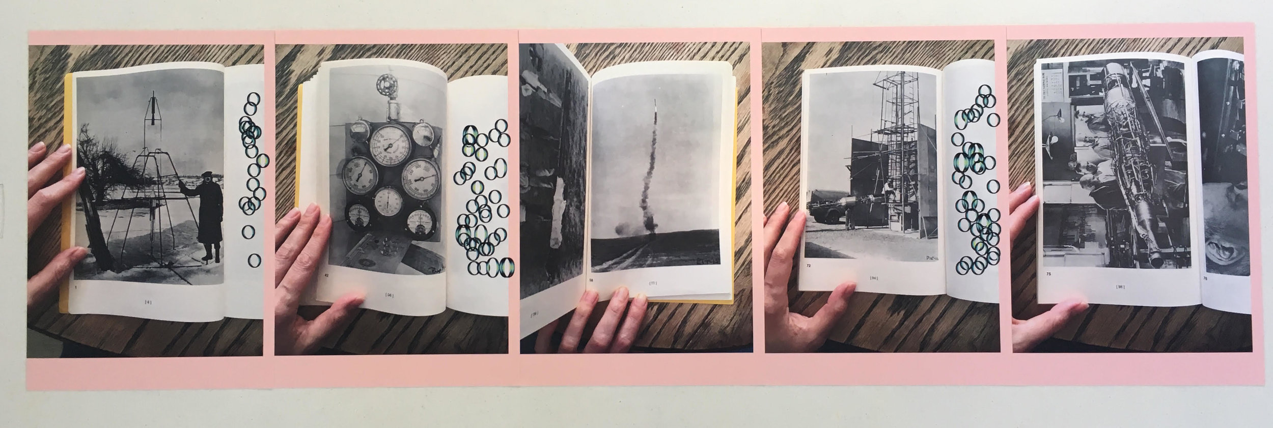 AMoCA Collection  |  Handling Goddard #1, #42, #58, #72, #75 , Archival pigment on fibre based paper, Edition of 5 (2 AP), each H. 48 x W. 33 cm., 2017