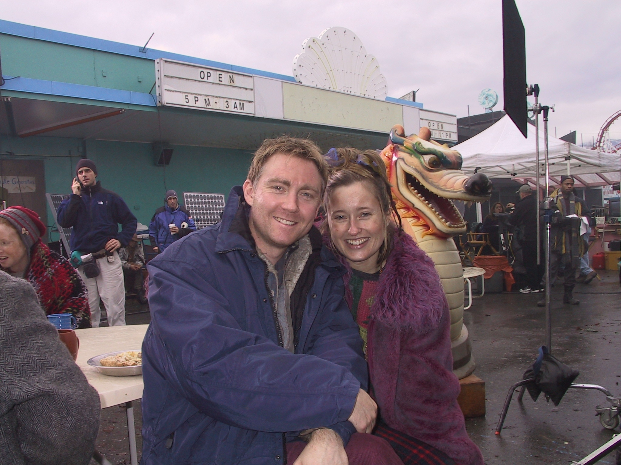 JEREMIAH  TELEVISION SERIES  VINCENT GALE & WENDY RUSSELL
