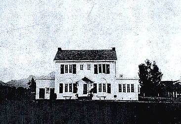 The William F. McElroy House circa 1936