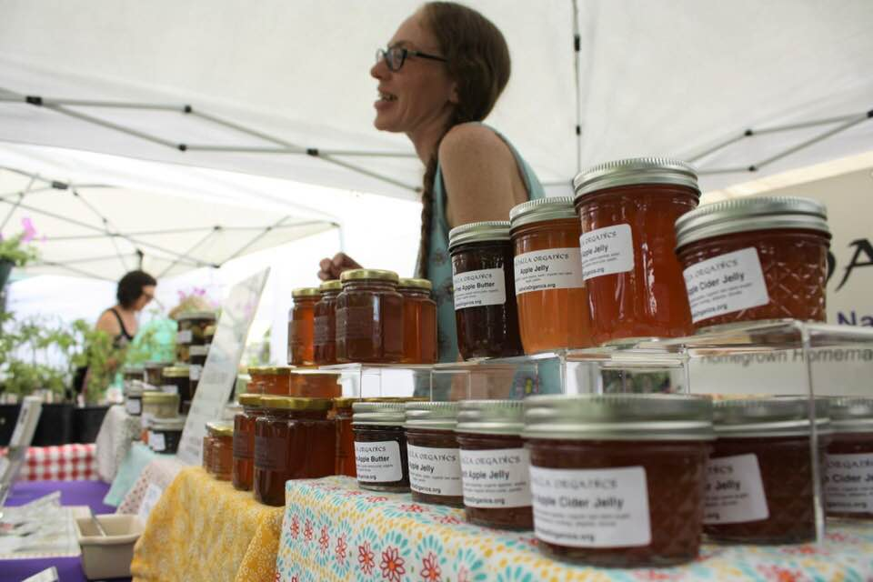 Ruby connects with customers every Thursday, Friday, and Saturday at the local farmer' markets.