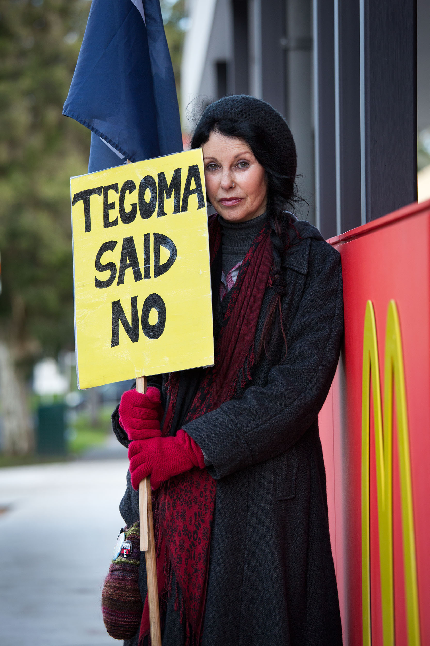 Week 29: Marcia, Tecoma, VICTecoma's controversial McDonalds is now a reality, but a dedicated group of locals, including Marcia, continue to protest.