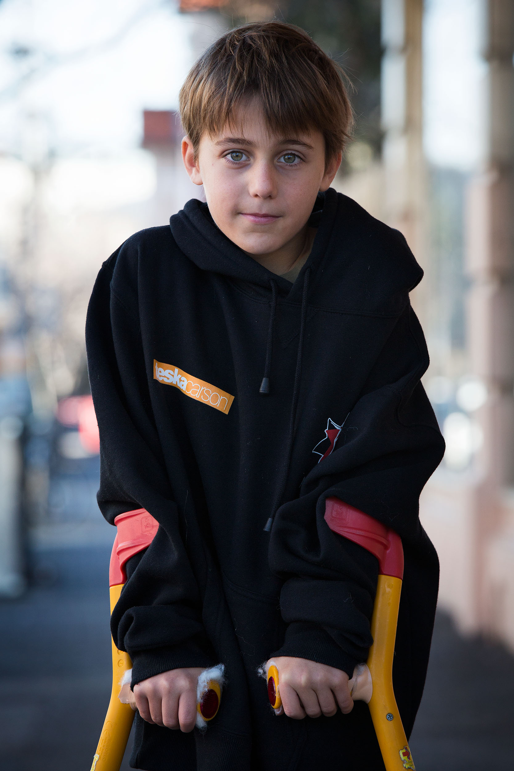 Week 31: Carter, St Kilda, VICNine year old Carter, waiting for his sister to finish ballet.