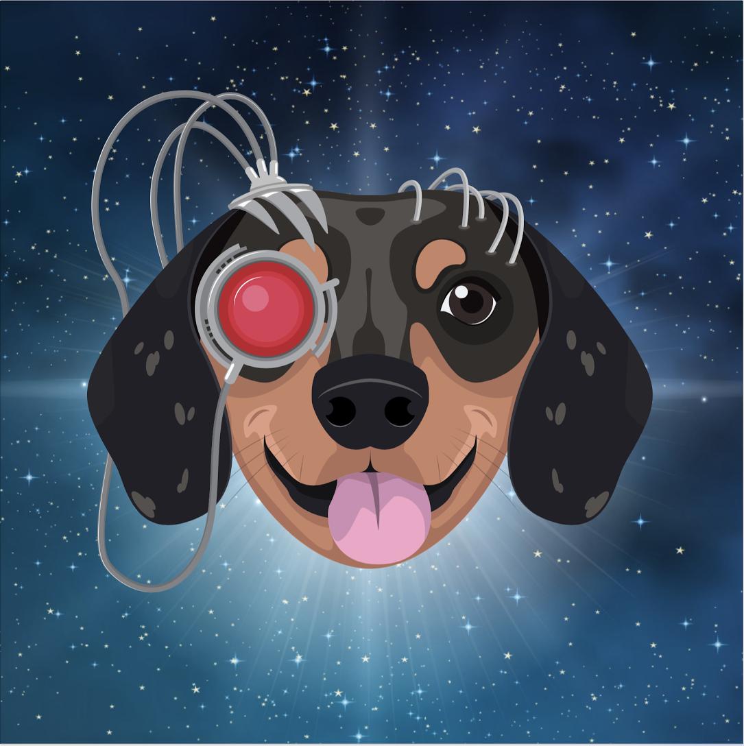 Meet Elly—the world's first artificially intelligent dog. Image: EllyAI