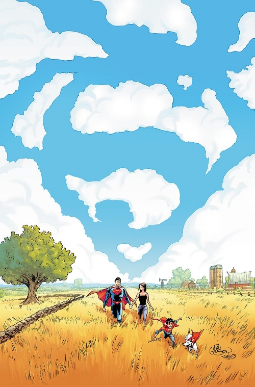 Cover of Superman #45 by Patrick Gleason