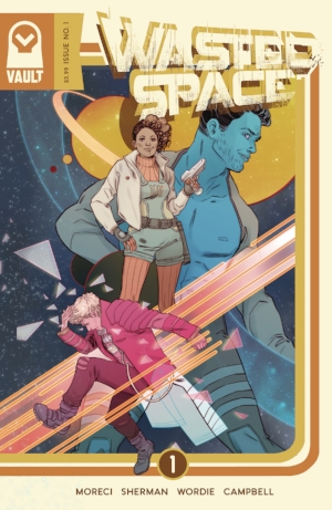 Wasted Space #1 from Vault Comics.