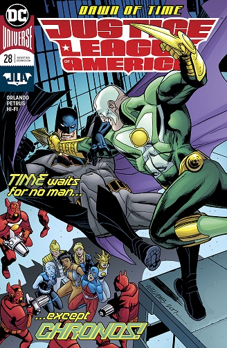 Justice League of America  #28 by Steve Orlando (w) and Hugo Petrus (a).