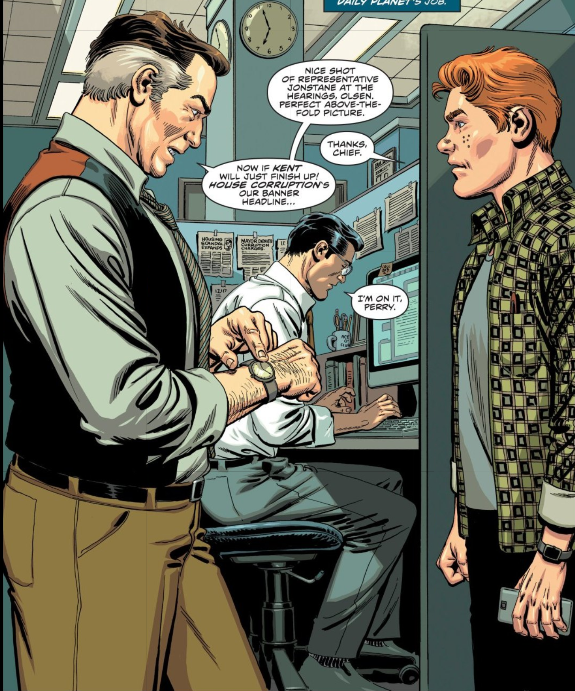 The Daily Planet is hardly The Daily Planet without Lois.